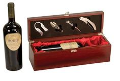 Rosewood Finish Single Wine Box with Tools by Rock Ridge *** You can get more details by clicking on the image.Note:It is affiliate link to Amazon. #stripes