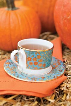 Tea & Pumpkins (source: pinterest.com)