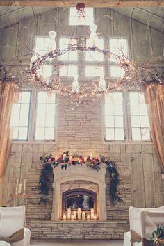 Rustic Stunning Wedding Ceremony Hall