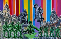 Fadiel Hermans: A Tale Of Two Cities: fine art | StateoftheART Canvas Size, Original Artwork, Pop Art, Cities, Africa, Fine Art, Gallery, Artist, Painting