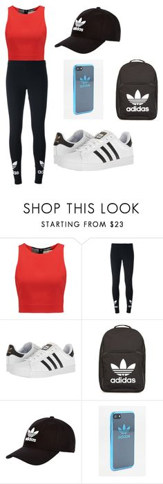 """""""Adidas"""" by dancingpeach2 ❤ liked on Polyvore featuring beauty, Alice + Olivia, adidas Originals and adidas"""