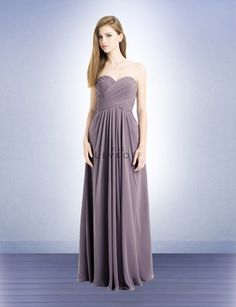 I like this dress and color for bridesmaids