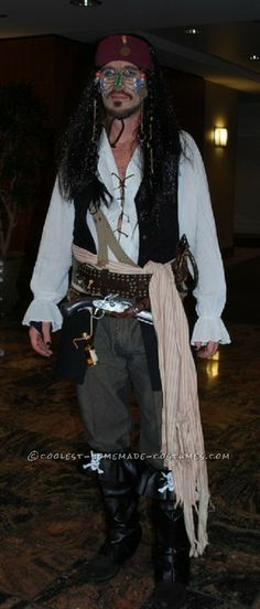 the RPF Halloween Pinterest Jack sparrow costume, Jack sparrow - homemade halloween costume ideas men