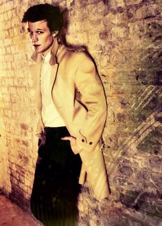 Matt Smith, why art thou not in my pants? With thy beautiful face and Sonic Screwdriver and sassy style?