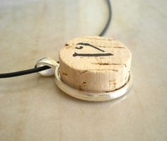 Initial Necklace Letter V  Upcycled Jewelry  by MaddDoggofTomorrow, $25.00