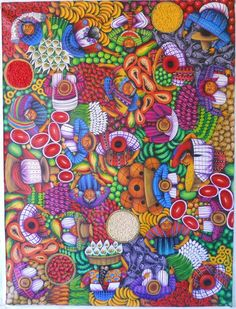 Bird's View  Oil on canvas, Original. All my works are available for sale, you may order by facebook .. Thanks again for your trust and support, we begin another year ... Greetings from   Guatemala.   Sincerely:  Lorenzo Cruz Sunu.