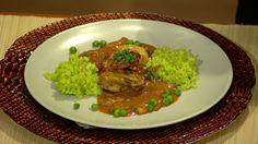 Skvelý a osviežujúci twist na klasický recept od Rusinu a Sedláka. Guacamole, Grains, Mexican, Ethnic Recipes, Food, Essen, Meals, Seeds, Yemek