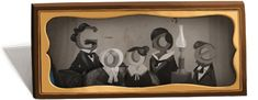 Louis Daguerre, photography pioneer, honored with Google doodle    Louis Daguerre's 224th birthday is celebrated with a Google family portrait