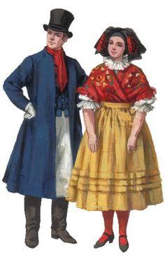 Ethnic Outfits, Ethnic Clothes, Folk Costume, Costumes, Polish Folk Art, European Dress, Central Europe, Poland, Embroidery