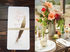 Glittery Thanksgiving Wedding Ideas