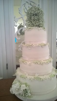 Wedding Cake by Sweet Bliss Bakes www.sweetblissbakes.com