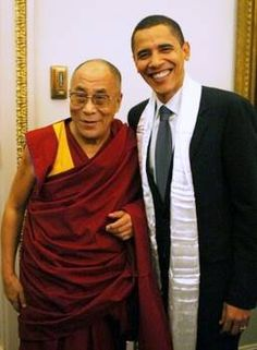 Historical Analysis: US, China, Iran, & the Dalai Lama of Tibet Barack Obama, 14th Dalai Lama, Presidente Obama, Gautama Buddha, Tibetan Buddhism, Before Us, Role Models, Namaste, Tibet