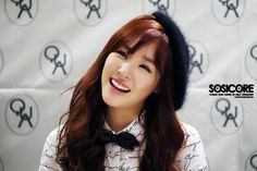 Snsd - Tiffany Hwang Miyoung #QUA #fansign