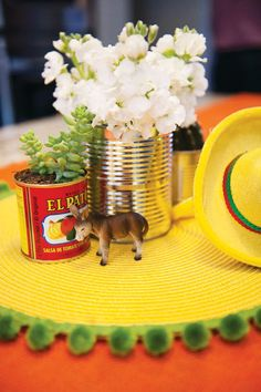 fiesta party centerpiece ideas