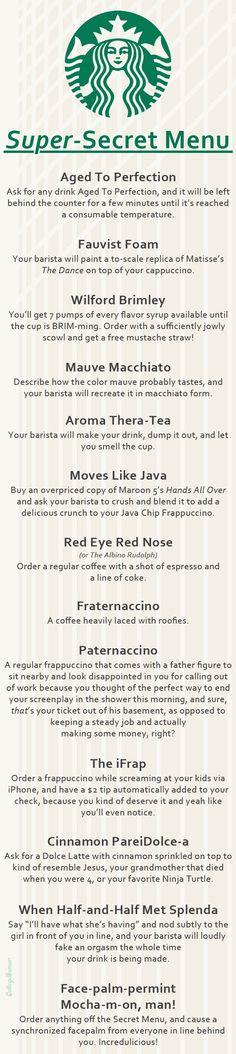 Starbucks Secrets