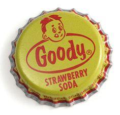 Goody Strawberry Soda bottlecap