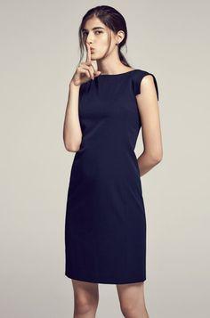 MM La Fleur Dress in Navy