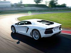 Lamborghini Aventador | White car | car wallpapers