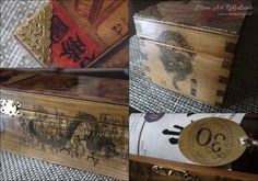Wooden box for whisky in chinese style, details.  www.meriart.pl.tl #handmade #meriart #oriental