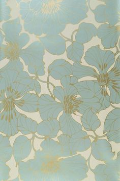 Indra | Floral wallpaper | Wallpaper patterns | Wallpaper from the 70s