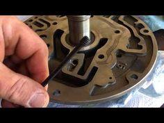 DIY TH400 Converter feed restrictor - YouTube Transfer Case, Chevy Pickups, Sheriff, Chevrolet, Engine, Diy, Trucks, Youtube, Motor Engine