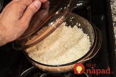 Ako pripraviť ryžu za 12 minút!