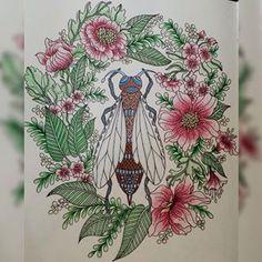 Dagdrömmar coloring book; author: Hanna Karlzon.