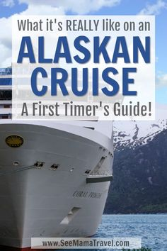Not sure what to expect on your first cruise to Alaska? I share all my tops tips and advice so … Disney Wonder Cruise, Disney Dream Cruise, Disney Cruise Tips, Best Cruise, Best Alaskan Cruise, Alaskan Cruise Excursions, Alaska Cruise Princess, Alaska Cruise Tips, Alaska Travel