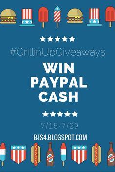Summer Giveaway Hop: PayPal Cash