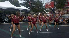 The Crimson Girls perform on Nike Center Court at #SpokaneHoopfest. #GoCougs