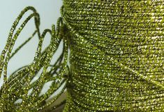 12yds String Gold Metallic Cotton Twine Rattail Jewelry Cord Sparkly Glittery Lacing String Supplies  Macrame Braiding Friendship bracelets on Etsy, $1.20
