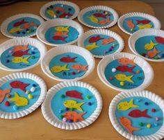 Aquarium craft idea for kids | Crafts and Worksheets for Preschool,Toddler and Kindergarten