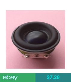 Home Speakers & Subwoofers 2Pcs 40Mm 4Ohm 5W Full Range Audio Speaker Neodymium Magnet Loudspeaker Ws #ebay #Electronics