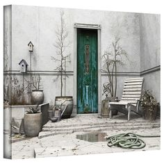 Art Wall 'Winter Garden' by Cynthia Decker Photographic Print on Wrapped Canvas & Reviews | Wayfair