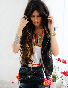 love the juxtapose of this look!!!