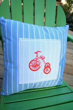 Tricycle pillow