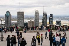 Belvedere Of Mount Royal Montreal San Francisco Skyline, Attraction, Street View, Travel, Pathways, Trips, Viajes, Traveling, Outdoor Travel