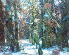 John F. Carlson (Swedish-born)  Aisles of the Forest.