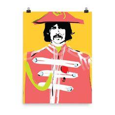 George Harrison - Unframed Photo Paper Poster