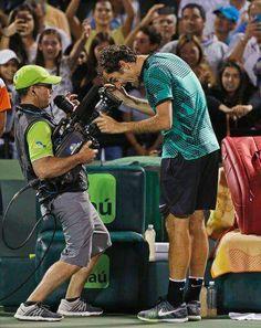 Roger Federer - vainqueur du Master 1000 Miami - 2 Avril 2017 Vs Rafael Nadal 6/3-6/4
