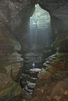 stephens gap cave, main pit, jackson county, alabama, matt kalch 3   Flickr - Photo Sharing!
