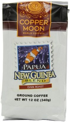 Copper Moon Papua New Guinea Coffee, Dark Roast, « Lolly Mahoney