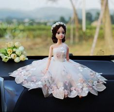 Small creations look beautiful 😍. Smart Doll, Cute Dolls, Ballet Skirt, Gowns, Yahoo, Shopping, Beautiful, Store, Products