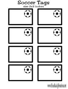 Yellow Soccer Ball Pattern Treat Bag From PrintableTreats