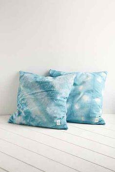 Riverside Tool & Dye Turquoise Dropcloth Pillow