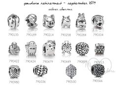 pandora retirement september 2014 silver charms