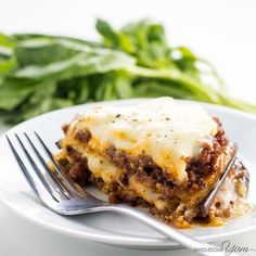 This healthy low carb eggplant lasagna recipe without noodles is quick and easy to make, using simple ingredients. Just 20 minutes prep time!