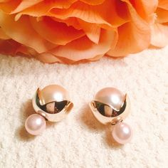 Closing Closet Double Sided Earrings Elegant and classy Jewelry Earrings