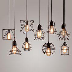 Vintage  Loft Creative Industrial Lamp