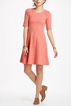 {Threaded Trails Swing Dress} love the simple structure of this dress
